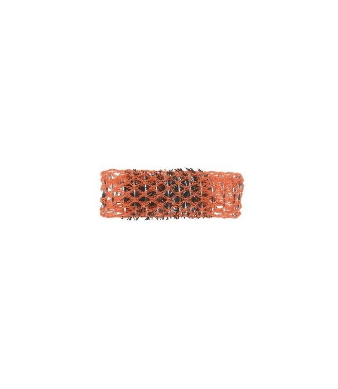 rouleaux mise en plis avec brosse 22 mm 12 pcs orange