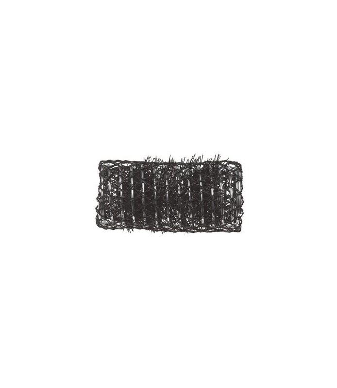 rouleaux mise en plis avec brosse 32 mm 12 pcs noir