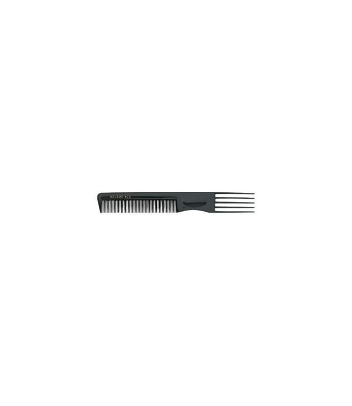 peigne fourchette plast 100 noir - 20.5 cm