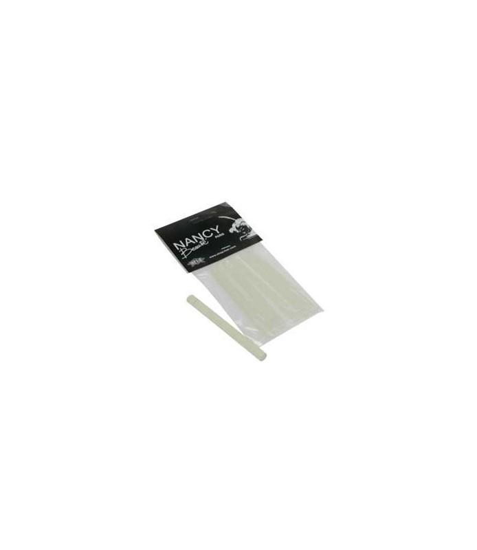 baton de kératine transparent pour extension 8 mm x 6