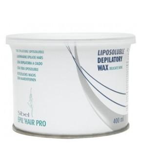 cire d'épilation maxi pro - peaux delicates - 400ml gris
