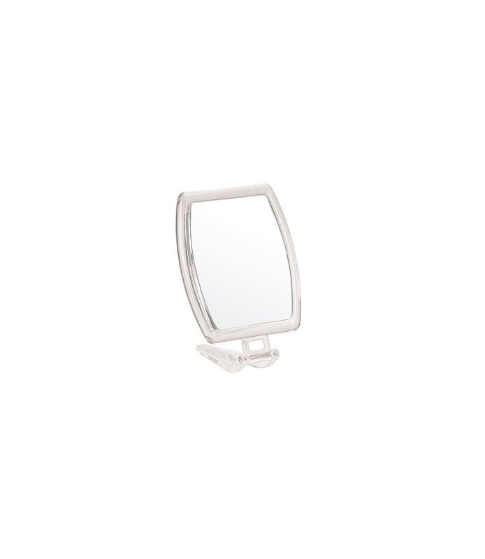 miroir grossissant acrylique x 5 double face 15,7 x13,5 cm