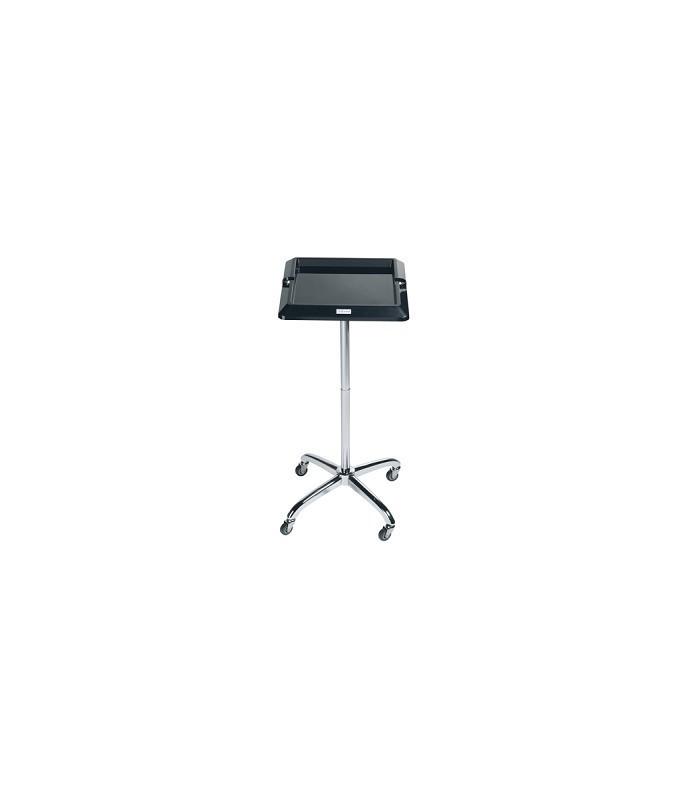 table de service Escort carrée noir