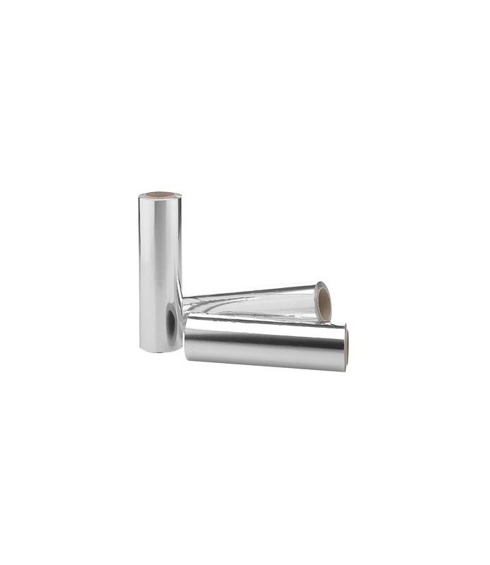 lot de 3 rouleaux d'aluminium 20cm 100mt 12µ
