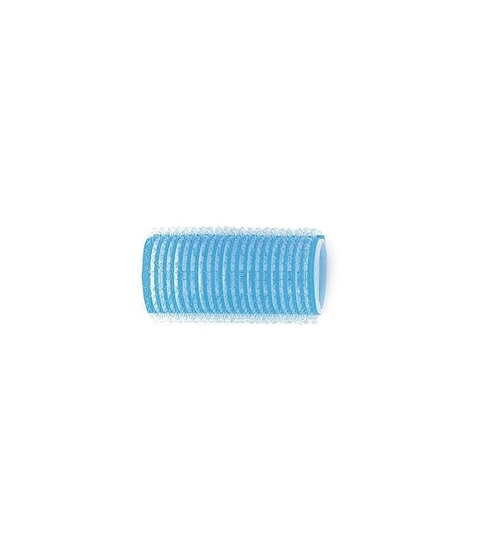 Rouleaux velcro 28mm 12 pcs bleu ciel