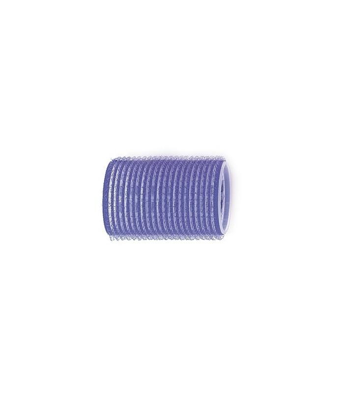 Rouleaux velcro 40mm 6 pcs bleu