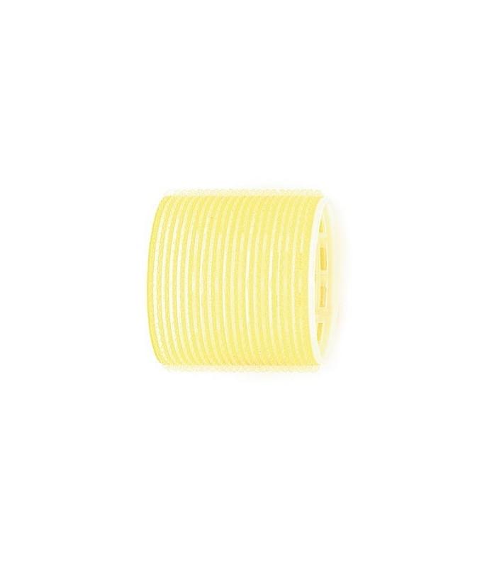 Rouleaux velcro 66mm 6 pcs jaune