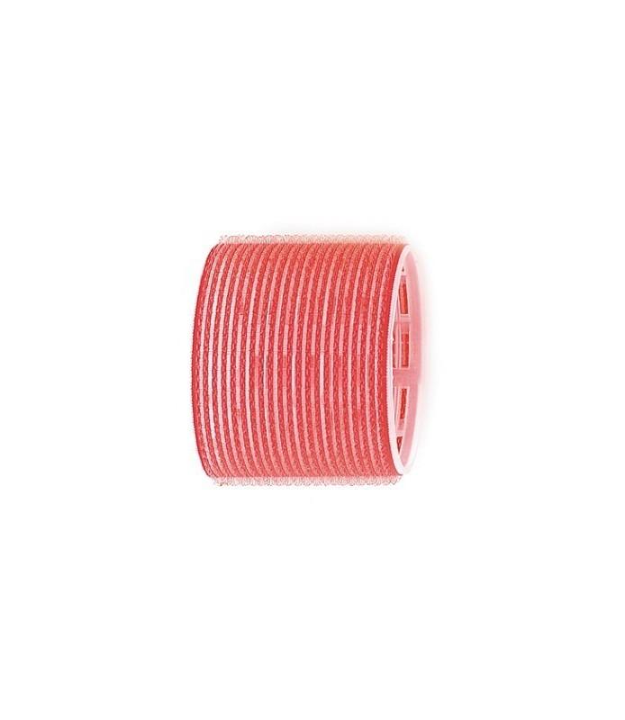 Rouleaux velcro 70mm 6 pcs rouge