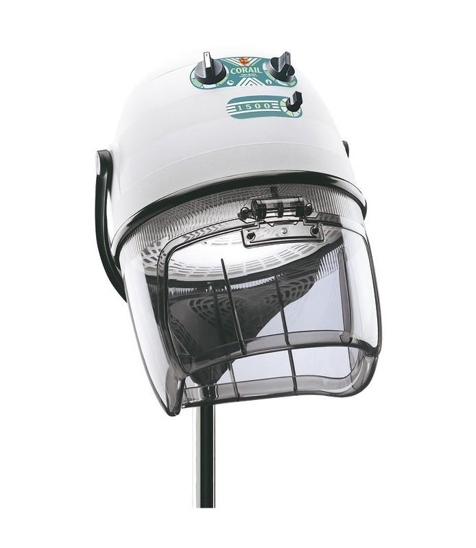 casque corail 1500 blanc tête seule sans pied