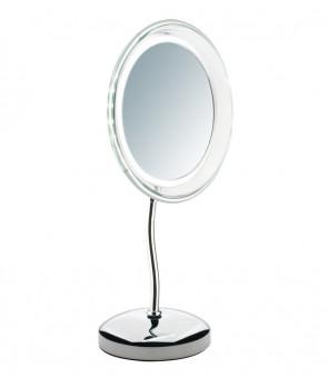 miroir grossissant x 5 clairant lampe led et pivotant sibel 4430404. Black Bedroom Furniture Sets. Home Design Ideas