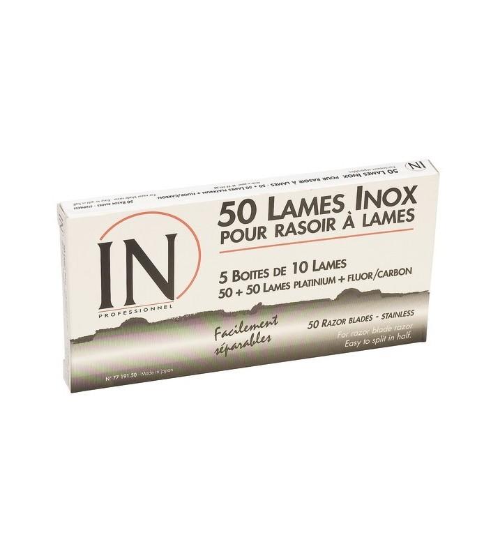 Lames interchangeable x 50 lames pour rasoir 77220 00
