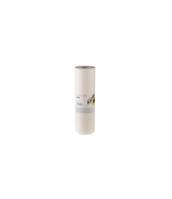 Rouleau de 56 serviettes cellulose plastique 47 x 55 cm