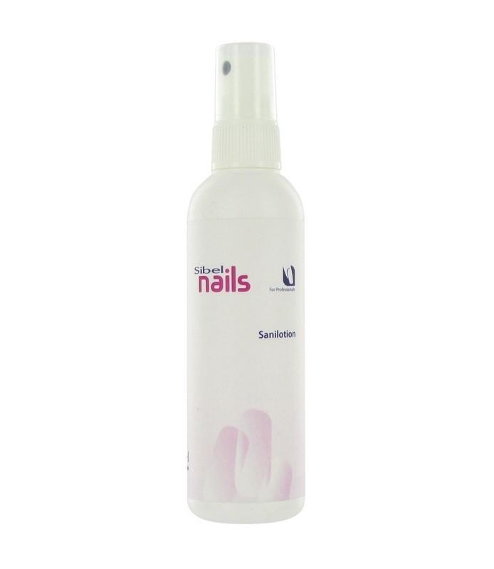 spray désinfectant pour les mains et le matériel
