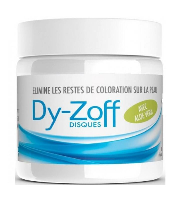 Barbicide DY ZOFF 80 disques détachants après coloration