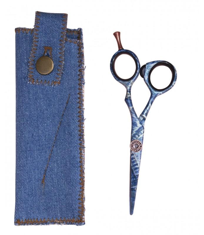 Ciseaux FASHION Jean HAIR CUT imprimé façon jean