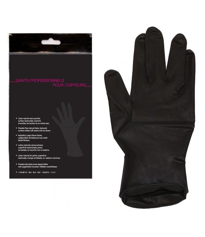 Gant latex - Gant latex noir ...