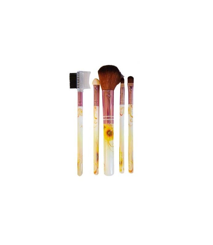 Lot de 12 set de 5 pièces accessoire de maquillage