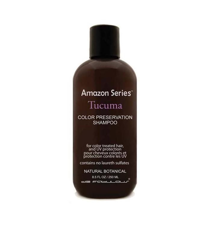 AMAZON SERIES Shamp pour cheveux colorés 250 mlau beurre de TUCUMA