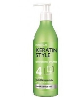Conditionneur post Lissage bresilien N°4 PROSALON KERATIN STYLE 500 ml