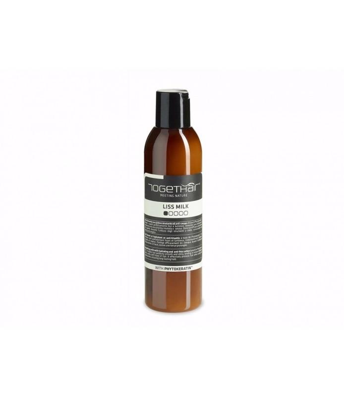 Lait lissant et hydratant et anti-frisottis LISS MILK TOGETHAIR Euphytos 200 ml