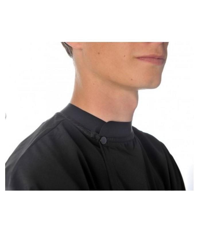 Peignoir barber col silicone