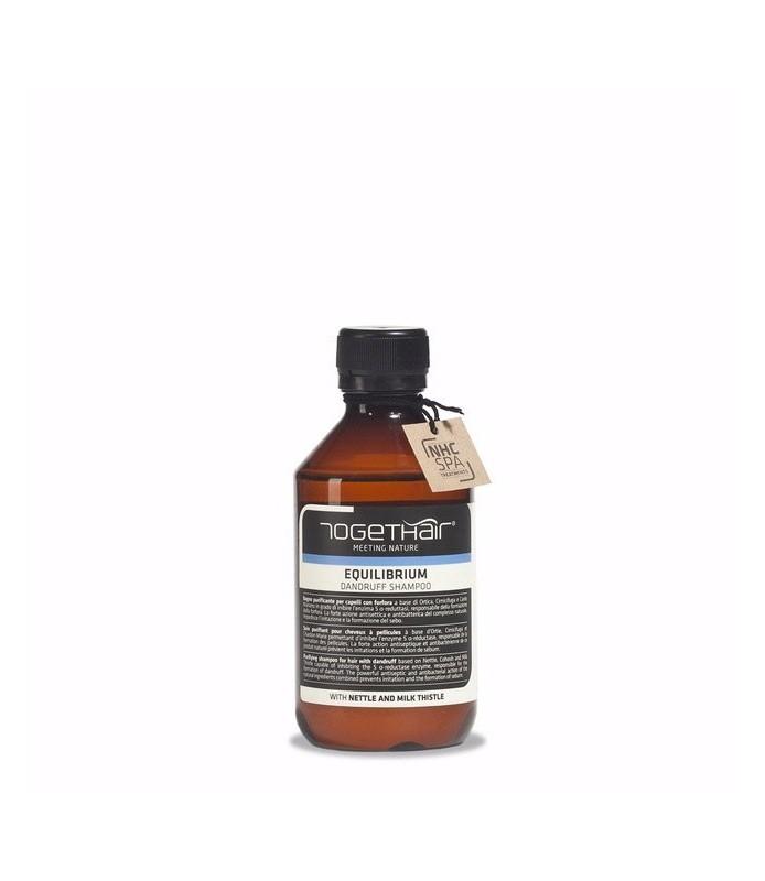 Shampoing équilibrium TOGETHAIR détoxifiant et purifiant 250ml