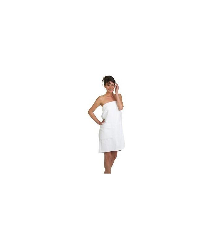 paréo confort coton pol blanc