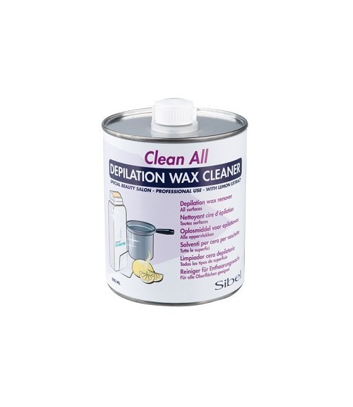 depilation wax cleaner nettoyant cire 800 ml
