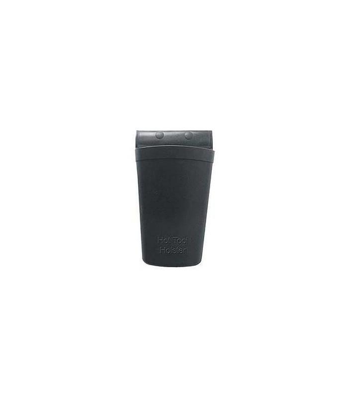 holster en silicone noir résistant à la chaleur
