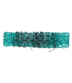 rouleaux mise en plis avec brosse 13 mm 12 pcs vert