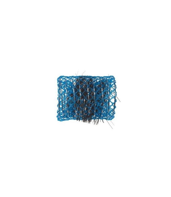 rouleaux mise en plis avec brosse 50 mm 6 pcs bleu