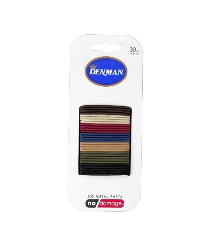 elastiques denman 2mm coloris naturel x 30