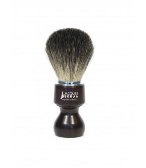 Brosse à barbe en poil de blaireau pur