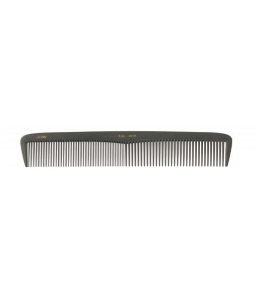 Peigne en carbone demi démêloir dents serrées