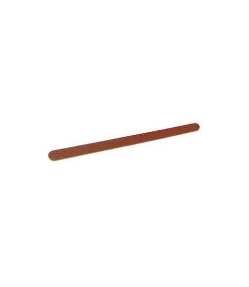 limes à ongle grain émeri 100/150 pour ongles american 17 cm x 10 pcs