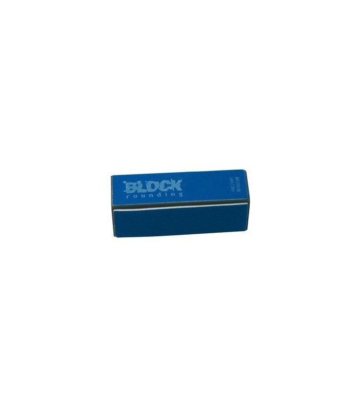 polissoir ongles block rounding 100/180 medium sachet 2pcs