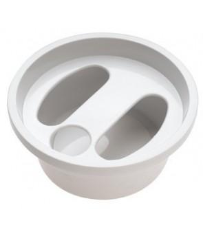 bol de manicure blanc