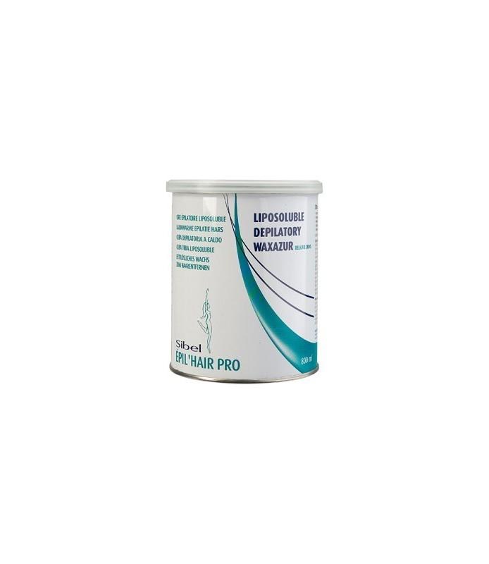 Cire basse température wax'azur 800 ml peaux sensibles