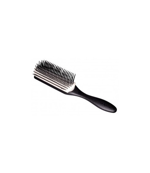 brosse styling noire coussin blanc 9 rangs
