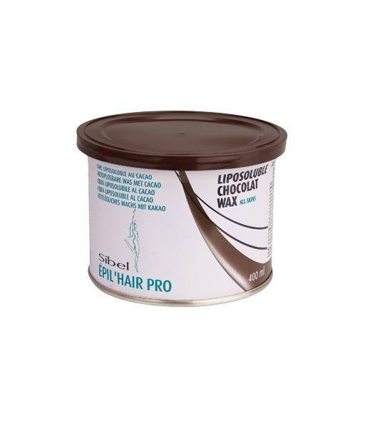 pot choco cire pour visage et corps 400ml