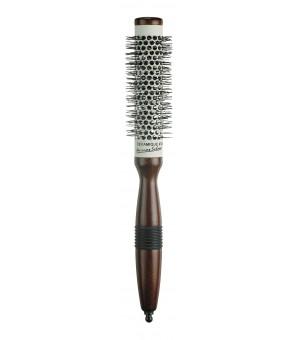 brosse céramique bois diamètre 25 mm