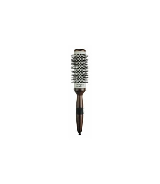 brosse céramique bois diamètre 38 mm