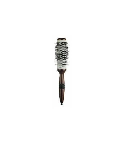 brosse céramique bois diamètre 43 mm