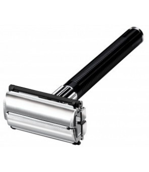 rasoir feather noir double edge popular