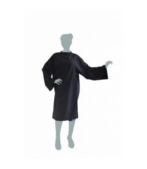 peignoir cape soft noir...
