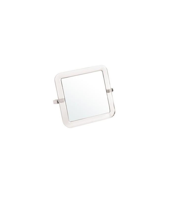 miroir grossissant acrylique x 5 double face 15 x 15cm