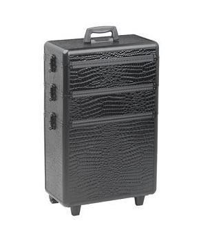 croco valise aluminium à 3...