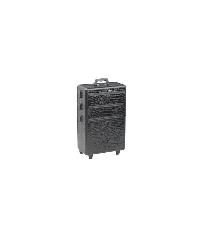 croco valise aluminium à 3 etages