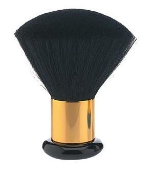 blaireau luxe poils poney noir