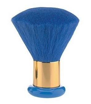 blaireau luxe poils poney bleu